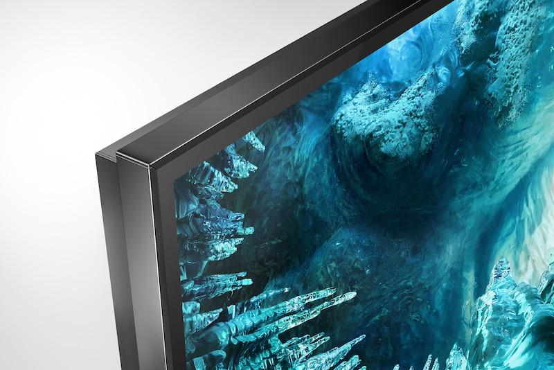 Узкая рамка телевизора, вид сбоку
