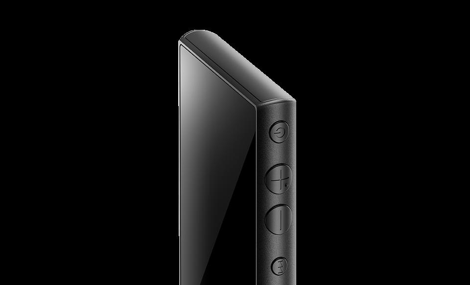 Крупный план плеера NW-A100 Walkman