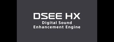 Повышение разрешения аудио с помощью DSEE HX