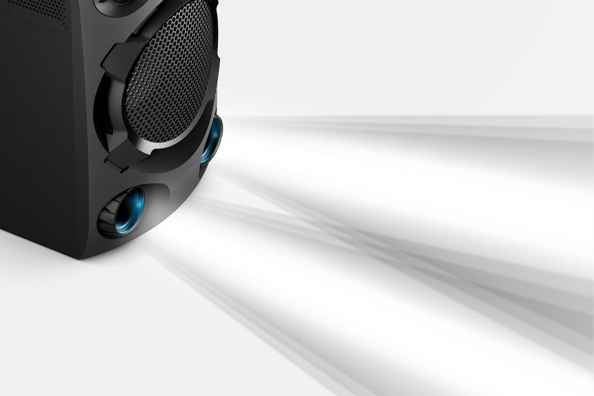 Аудиосистема мощного звука Sony MHC-V02