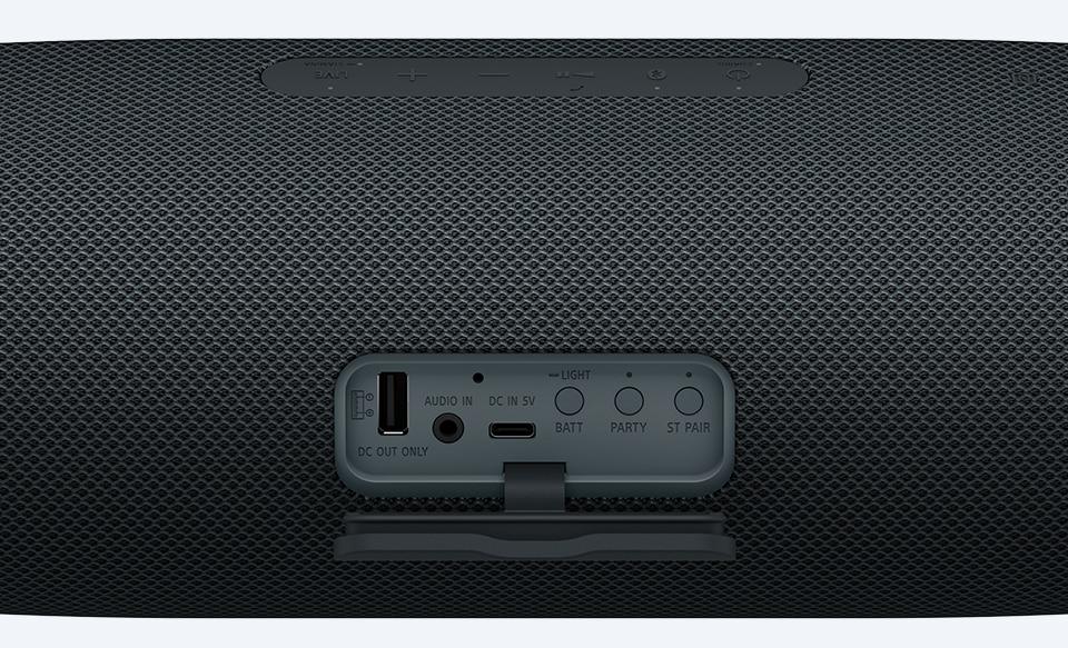 Крупный план портов для зарядки USB Type-C™ и USB