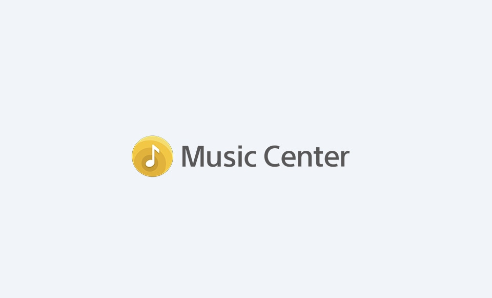 Логотип Sony | Music Center