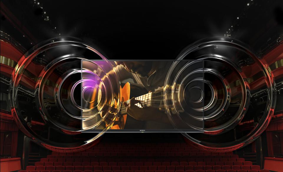 Реалистичность звука наравне с реалистичностью изображения. Sony XG7005 / XG7096 Series
