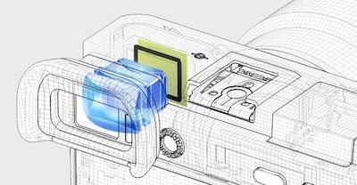 ILCE6500 Видоискатель XGA OLED Tru-Finder™
