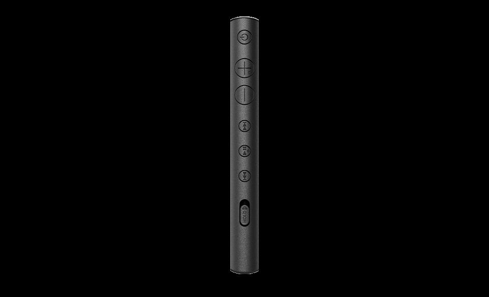 Плеер NW-A100 Walkman с боковыми кнопками, вид сбоку