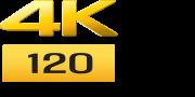 Логотип 4k 120