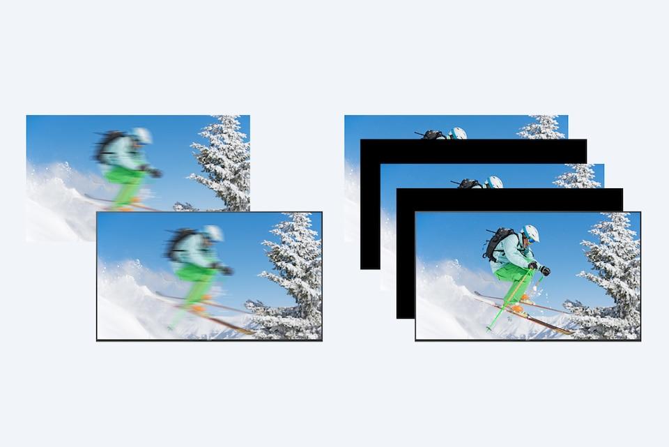 Motionflow: меньше размытости даже в сценах с быстрым движением