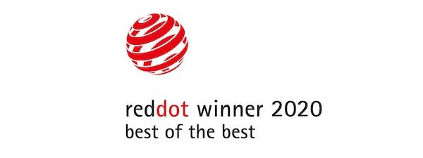 обладатель награды Red Dot Award 2020