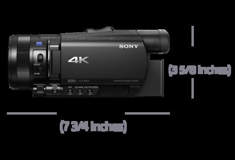 Размеры Sony FDR-AX700
