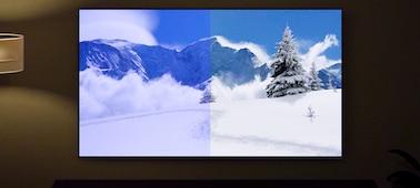 Изображение экрана, на котором показано преимущества датчика освещенности и цвета