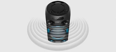 Изображение Аудиосистема мощного звука V02 с технологией BLUETOOTH®