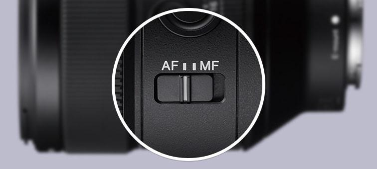 SEL85F14GM Удобное управление фокусировкой