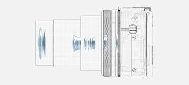 Изображение RX100 VI— широкий диапазон фокусных расстояний и сверхбыстрая автофокусировка