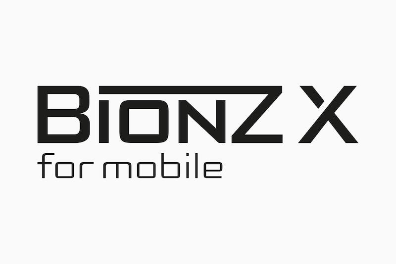 Логотип процессора BIONZ X™ для мобильных устройств