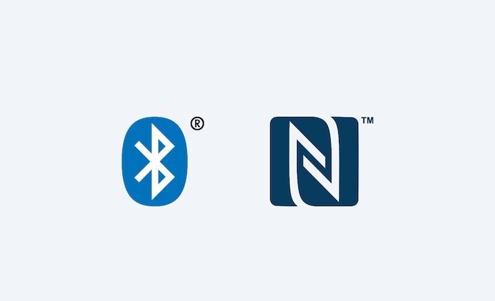 Логотипы Bluetooth и NFC