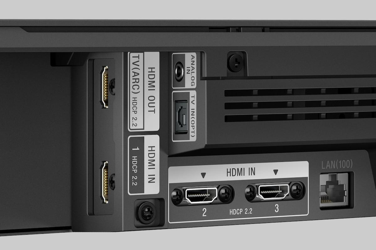 доступно три HDMI-входа