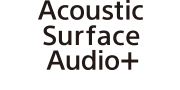 Логотип Acoustic Surface Audio+