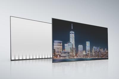 Задняя панель и экран ЖКД с боковой подсветкой Edge LED
