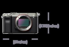 Изображение компактной полнокадровой камеры α7C