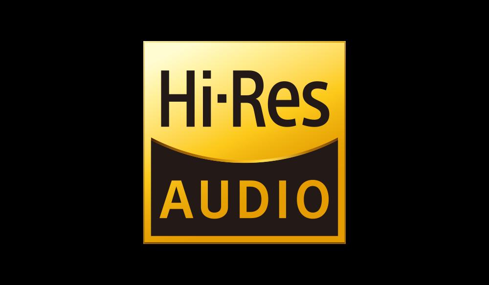 Логотип аудио высокого разрешения