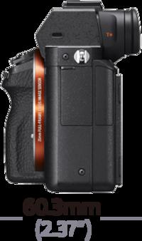 Изображение Камера α7S II с байонетом Е и полнокадровой матрицей