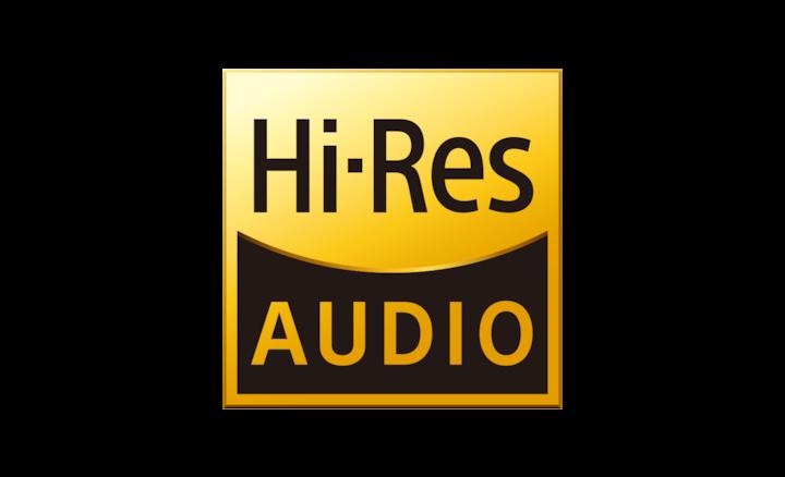 Логотип Hi-Res Audio
