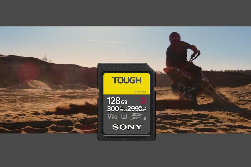 Карта памяти серии SF-G спецификации TOUGH Sony SF-G SERIES (T)