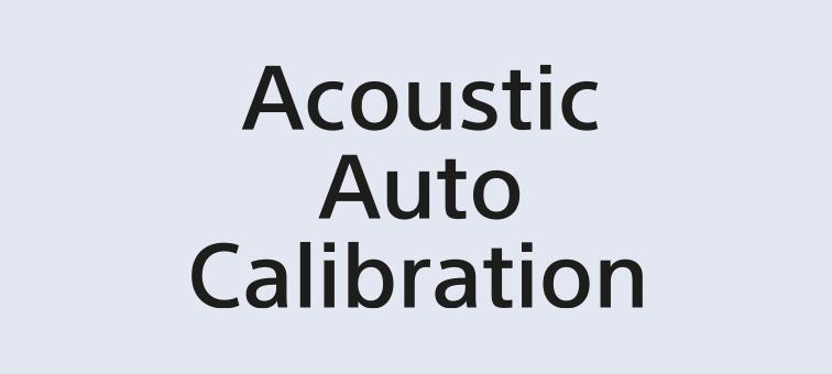 Логотип Acoustic Auto Calibration