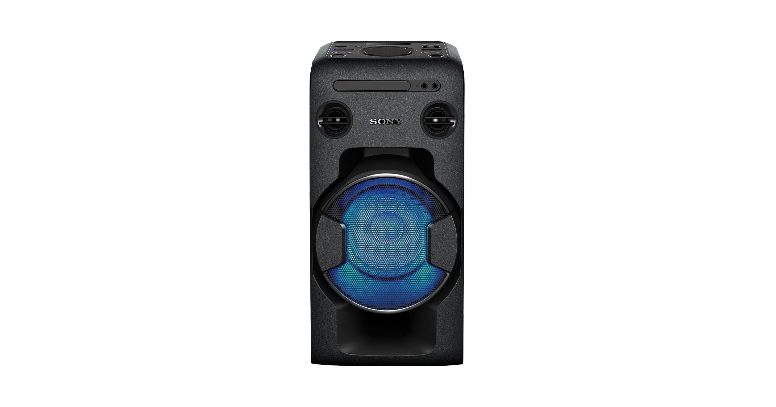 Мощная домашняя моноблочная аудиосистема с Bluetooth®   MHC-V11   Sony RU 84274b887c6