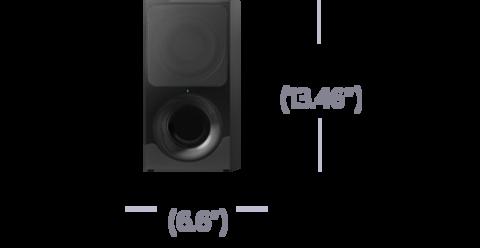 Размер саундбара