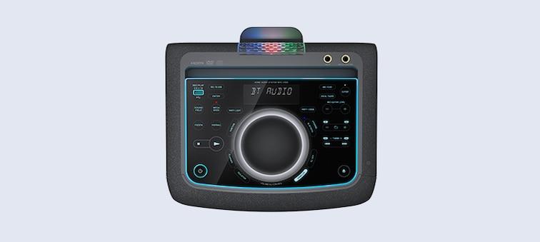 Панель управления с подсветкой и сенсорными кнопками
