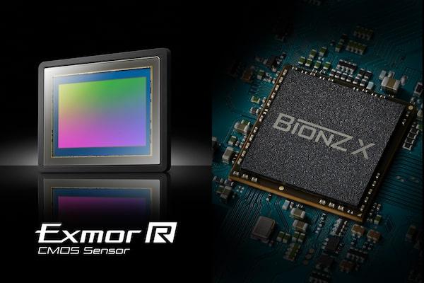 CMOS-матрица Exmor R™ и процессор изображений BIONZ X™