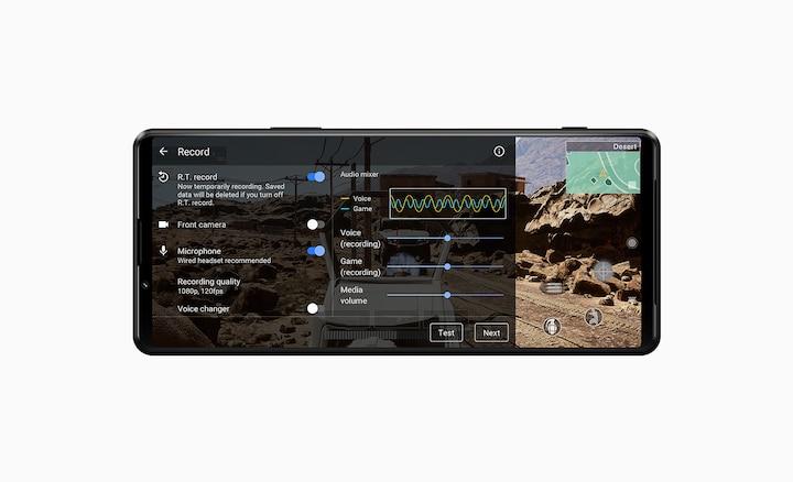 Игровой экран с интерфейсом функции предварительной записи.