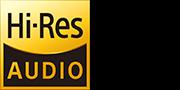 Логотип технологии аудио высокого разрешения