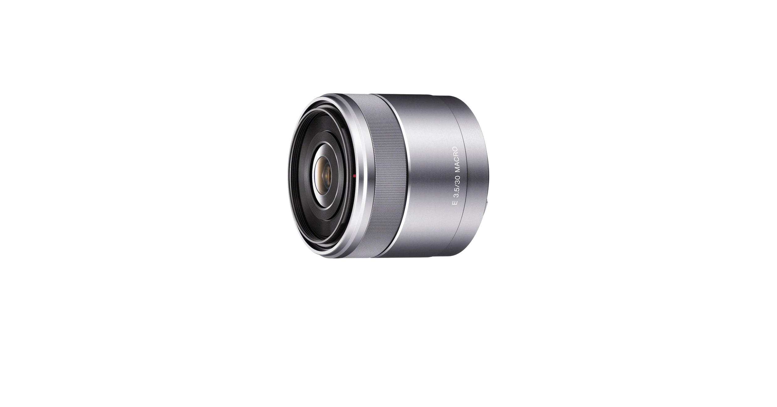 Макрообъектив E30mm F3.5 | SEL30M35 | Sony RU