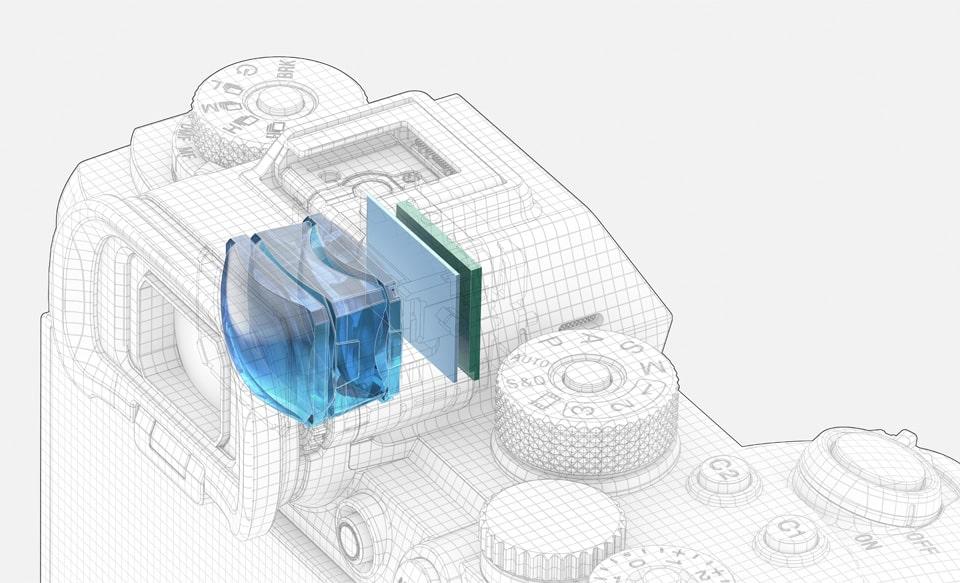 Изображение электронного видоискателя