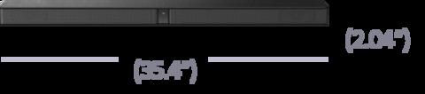 Размер сабвуфера