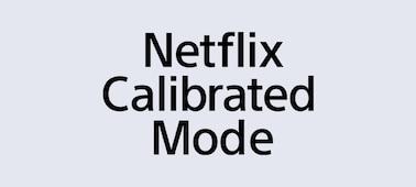 Логотип режима калибровки Netflix Calibrated Mode
