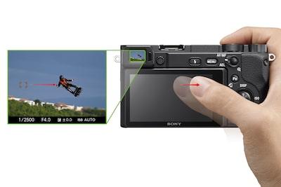 Функция Touch Pad для выбора области фокусировки