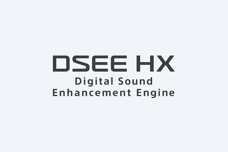 Повышение качества музыкальных форматов с DSEE HX Sony WF-1000XM3