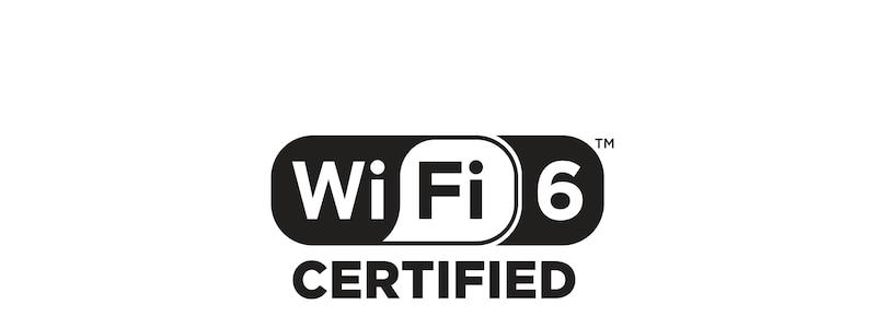 """Логотип """"Сертифицировано для Wi-Fi 6"""""""