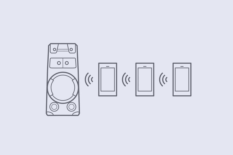 Подключение нескольких устройств